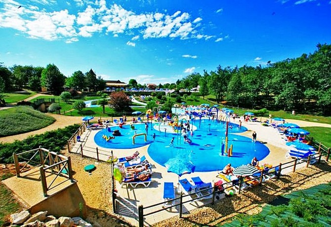 Dordogne Périgord: vakantiepark-camping Saint Avit Loisirs bij Le Bugue