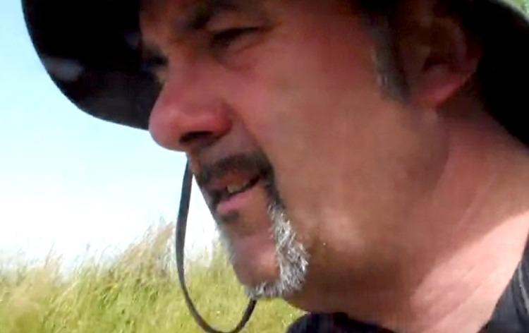 Jerome Poumeyrol: wandeltocht van 400 kilometer door de Dordogne.