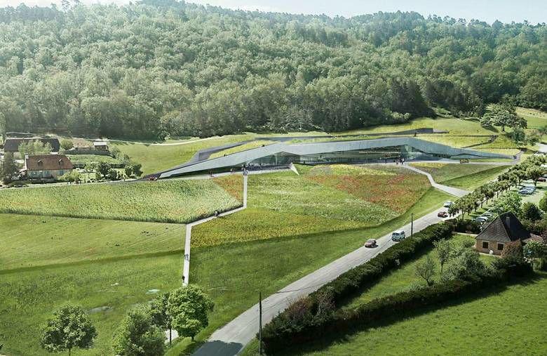 Lascaux 4 (IV) belevingscentrum bij Montignac.