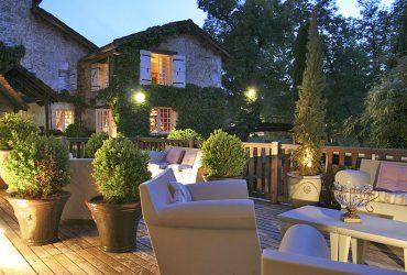 Dordogne Perigord - Michelin restaurant - Champagnac-de-Belair- Le-Moulin-du-Roc