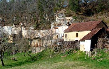 Dordogne Périgord: wandelen en wandelroutes - Boucle de Castels bij Saint Cyprien Roquebeysette