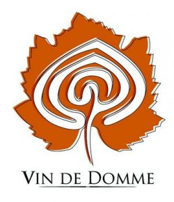 Dordogne Périgord: Cave du Vin de Domme bij Moncalou - logo.