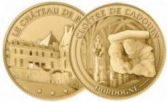 Dordogne-Munten-coins-van-Chateau-de-Biron-en-Cloitre-de-Cadouin6