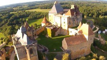 Château de Biron, Dordogne Périgord