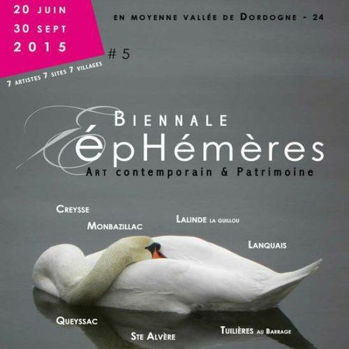 Biënnale Ephémères 2015: veel kunstenaars uit Aquitaine.