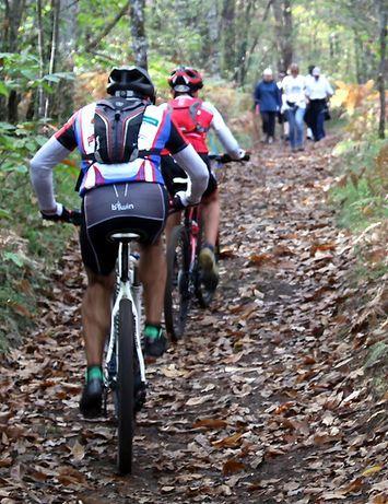 Rond de Vézère in Dordogne zijn 24 speciale mountainbike-parcoursen uitgezet, goed voor 565 kilometer.