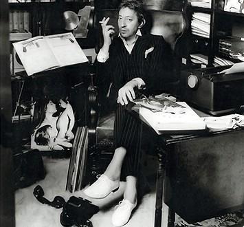 Serge Gainsbourg was een enthousiaste ambassadeur van de elegante Repetto-schoenen.