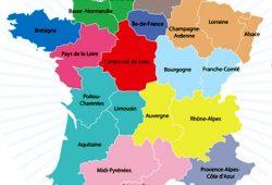 Dordogne wordt onderdeel van region Aquitaine, Limousin en Poitou-Charente.