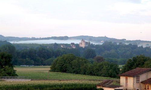 Périgord Dordogne Montgolfières: Château des Milandes.