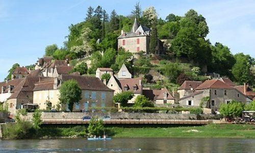 Dordogne-Périgord - villes et villages fleuris-fleurie: Limeuil.