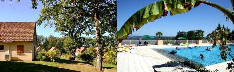 FranceComfort Vakantieparken: Le Lac Bleu en Domaine de Lanzac.