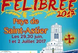 Dordogne Périgord: Félibree 2017 in Saint-Astier.