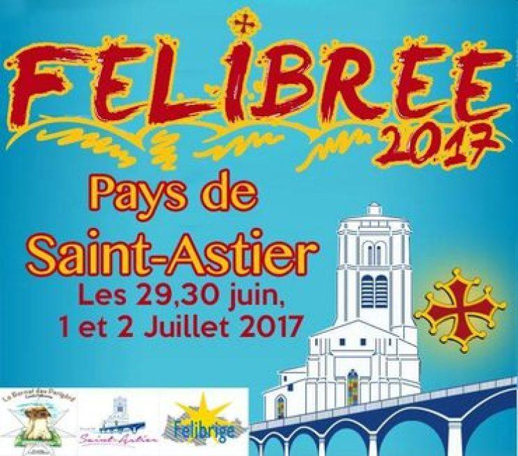 Saint-Astier loopt zich warm voor Félibrée 2017