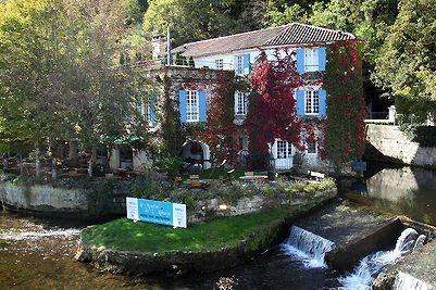 Dordogne Perigord: restaurants met Michelinster - Le Moulin de l Abbaye