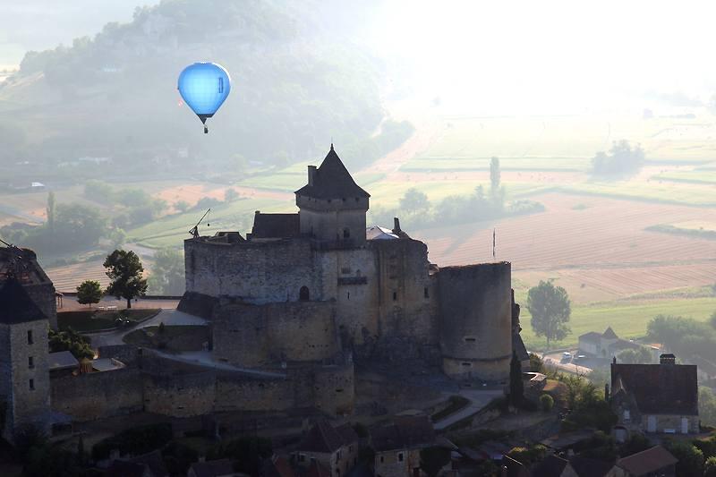 Dordogne-Périgord -kastelen castles chateaux: Chateau de Castelnaud