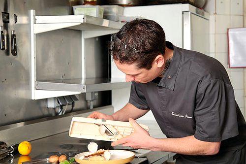 Dordogne Perigord: Michelin-restaurants - Un Parfum de Gourmandise - chef Sebastien Riou