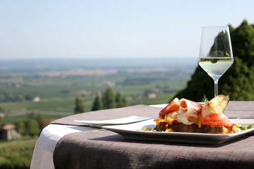Dordogne Perigord: Michelin-restaurants - La Tour des Vents Monbazillac. Chef: Damien Fagette.