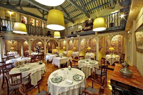 Dordogne Perigord: Michelin-restaurants - Le Vieux Logis in Trémolat. Chef: Vincent Arnould.