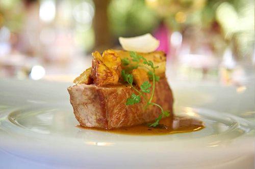 Dordogne Périgord: restaurant Le Vieux Logis in Trémolat - 1 Michelin-ster