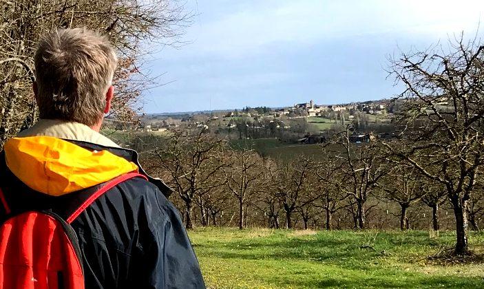 Dordogne Perigord: wandelroute Beaumont-du-Perigord