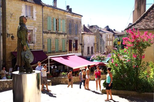 Dordogne Périgord: Bergerac Ville d-Art et d-Histoire - Cyrano.