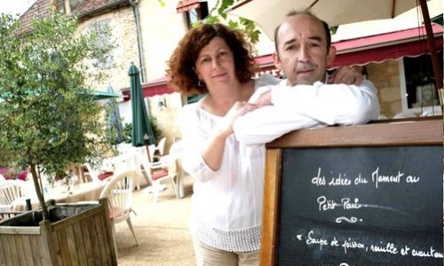 Dordogne Perigord-Bib Gourmand restaurants: Le Petit Paris in Daglan