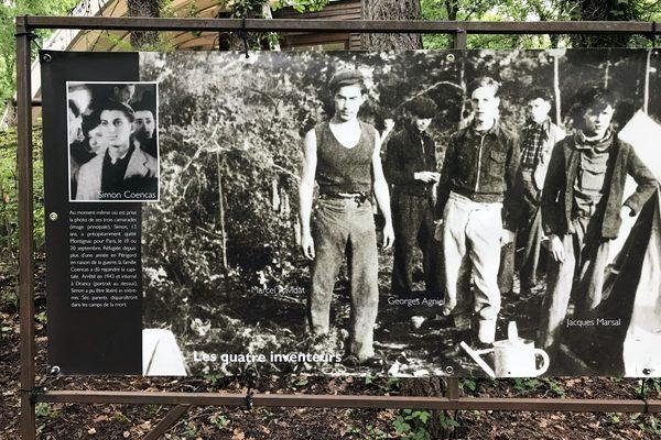 Dordogne Périgord: Lascaux 2 II bij Montignac; grot met préhistorische grotschilderingen in 1940 ontdekt door Marcel Ravidat, Jacques Marsal, Georges Agnel en Simon Coencas