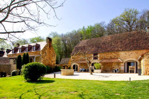 Dordogne Périgord: Gîtes de France - Le Clos de la Tour in Sainte-Nathalène heeft mooiste gîtes van Frankrijk.
